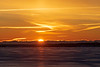 Sunrise across the Bay of Quinte 2020 January 30