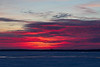 Purple skies across the Bay of Quinte before sunrise