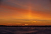 Hint of a sun pillar across the Bay of Quinte before sunrise.
