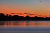 Belleville shoreline of the Bay of Quinte half an hour before sunrise.