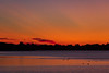 Looking down the Bay of Quinte at Belleville Ontario before sunrise 2019 September 5.