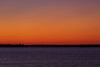 View down the Bay of Quinte before sunrise from Belleville.