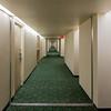 Travelodge Belleville corridor.