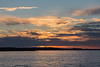 Cloudy sunrise over the Bay of Quinte 2016 October 12th.