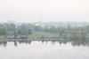Fog beyond East Zwicks Park.