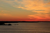 Almost sunrise down the Bay of Quinte. Viewed from the Norris Whitney bridge.