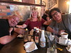 Peter Lantz, Devora Holland-Gray, Denise Lantz at Chuck's Steakhouse in Belleville