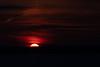 Sun rising across the Bay of Quinte. Dark Exposure.