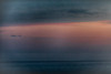 Lake Ontario at sunset from Rotary Beach in Wellington 2018 August 3. Pseudo HDR efx dark.