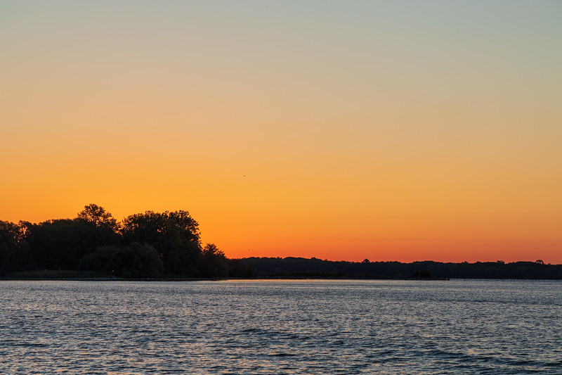 Bay of Quinte before sunrise.