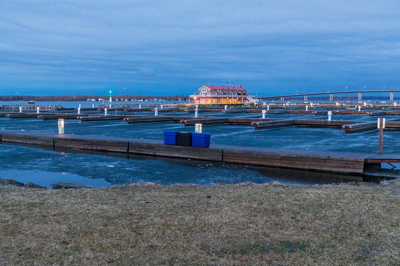 Meyers Pier before sunrise 2019 April 10.