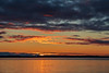 Sunrise down the Bay of Quinte at Belleville Ontario 2019 April 10.