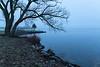 Foggy morning at foot of Herchimer before sunrise 2019 Apri 21.