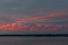 Clouds across the Bay of Quinte just before sunrise.