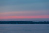 Hints of purple colour across the Bay of Quinte as sunrise approaches