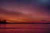 Looking down the Bay of Quinte before sunrise 2019 December 29 HDR efx dark shadows darkened