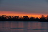 Looking east on the Bay of Quinte before sunrise