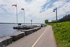 Werner Dietz Park on the Bay of Quinte.