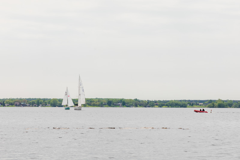 Boats on the Bay of Quinte
