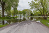 Turtle Pond road closed due to water. 2019 June 1