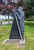 Monument honouring Lewis Kotte, Deputy Provincial Survey who carried out the first survey in the Quinte area in 1785.
