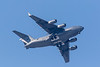 RCAF C-17 aircraft over Belleville.