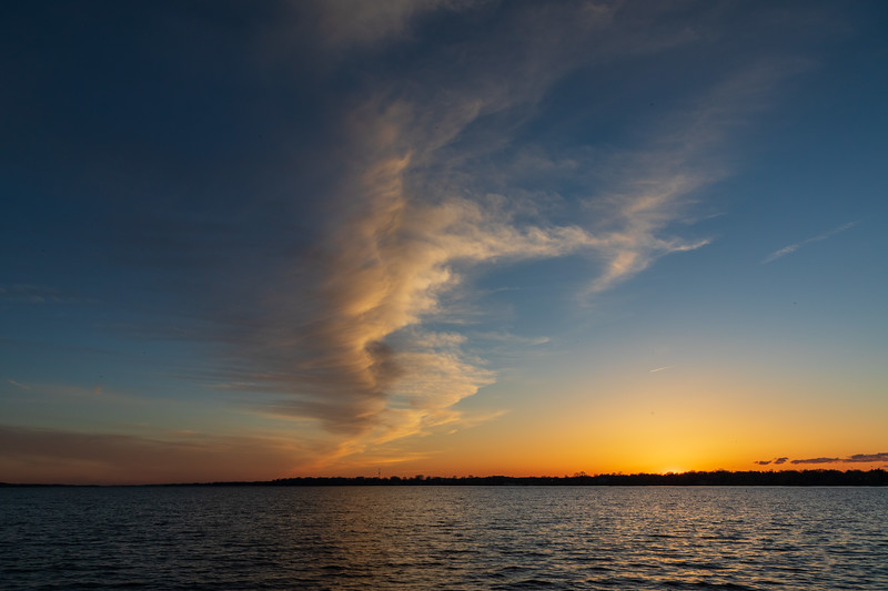 Bay of Quinte sunset