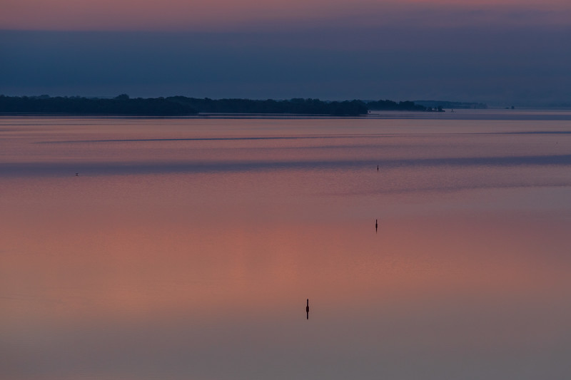 Bay of Quinte before sunrise