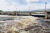 Moira River at the Lott Dam in Belleville 2019 May 11