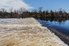 The Moira River at the Corbyville Dam.