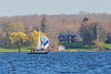 Sailboat across the Bay