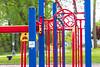 East Bayshore Park in Belleville. Playground equipment