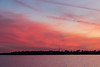 Sky over the Bay of Quinte after sunset. Purple and pink.