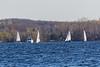 Sailboats across the Bay