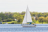 Sailboat on the Bay of Quinte