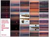Contact sheet sunrise photos Herchimer Boat Launch Belleville Ontario 2019 November 26