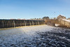 Moira River flowing over the McLeod Dam.