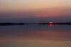 Sun rising across the Bay of Quinte