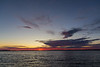 Wide view down the Bay of Quinte before sunrise 2019 September 30