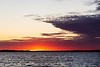 Bay of Quinte at scheduled sunrise time 2019 September 30