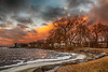 Bay of Quinte shoreline looking west from Herchimer Boat Launch. HDX efx deep 1,