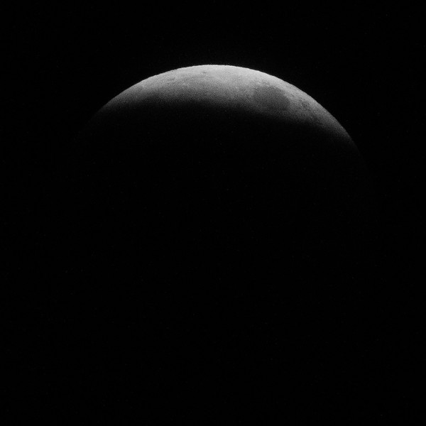 Just a few minutes before the full lunar eclipse. 2019 January 20.