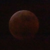 Red moon lunar eclipse 2019 January 20-21. HIGH ISO
