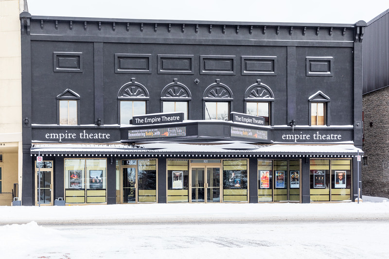 Empire Theatre on Front Street in Belleville Ontario.
