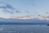 Hint of colour in the sky looking across the Bay of Quinte.