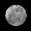 Full moon over Belleville Ontario 2019 January 20