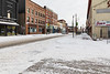 Front Street in Belleville Ontario looking south from across from the Empire Theatre 2019 January 20.