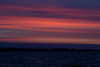 Purple skies down the Bay of Quinte before sunrise 2020 April 29.