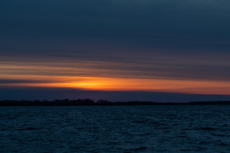Sunrise time down the Bay of Quinte