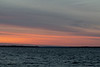 Colours fading before sunrise down the Bay of Quinte.